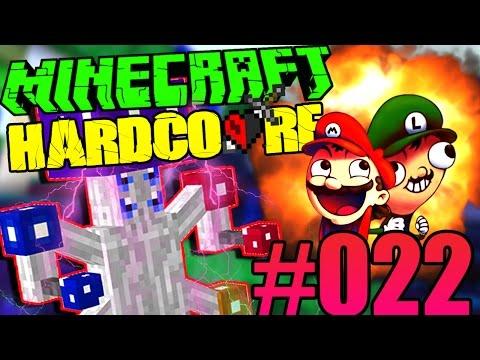 MARIO LUIGI E IL RE DEI FUNGHI! - Minecraft Hardcore S2 ITA Ep.22