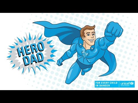This Father's Day make your dad a hero