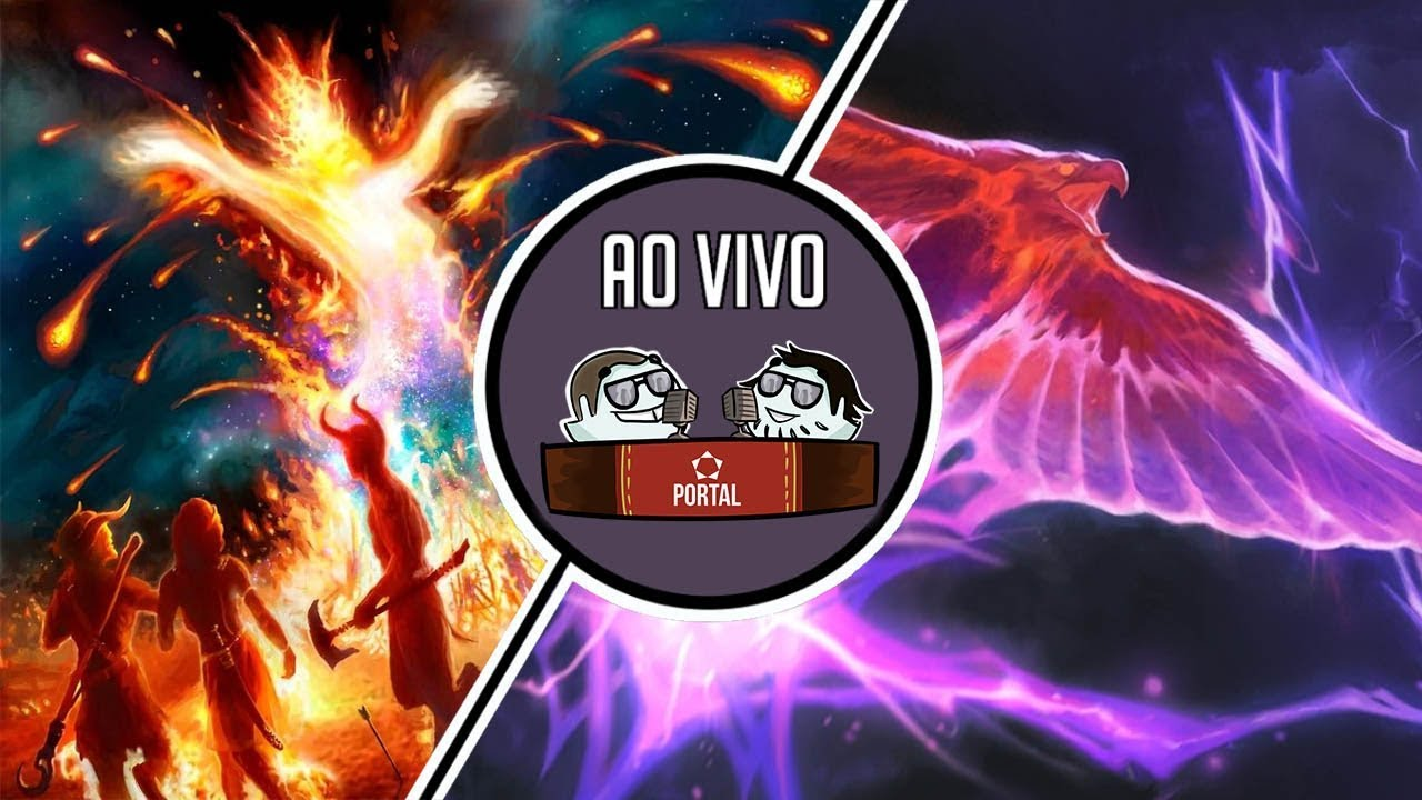 Modern ao vivo - Pyro Prison vs izzet phoenix   Rodada 2   Dia 02/04   Gameplay
