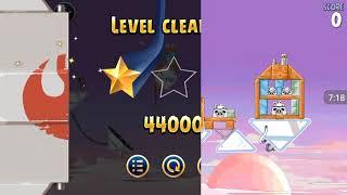 Прохождение Angry Birds Star Wars #7 [Облачный Город *1] (Предатель!)