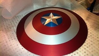 Captain America Shield: Diy Tutorial