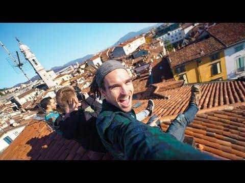 CLIMBING ITALIAN ROOFTOPS!