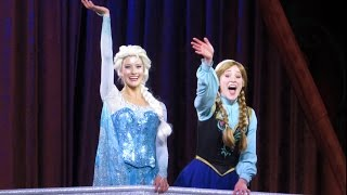 MouseSteps Weekly #116 Disney Frozen on Ice; Four Seasons Breakfast; Falcon's Fury; Bobby Burgess
