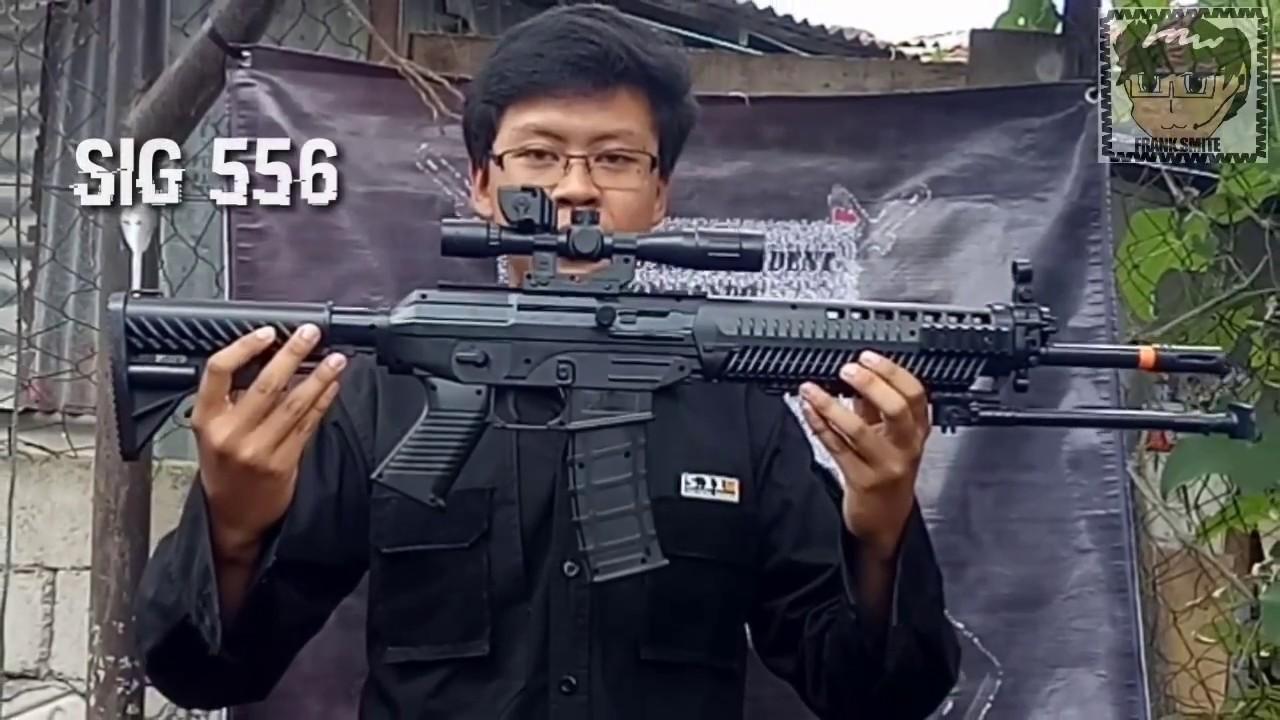 Review Airsoft Spring Murah Sig 556 Buatan Indonesia Cobra Youtube