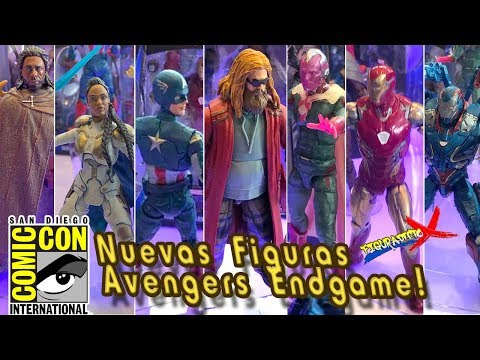 Nuevas Figuras Marvel Legends Avengers Endgame Anunciadas Thor BAF Anuncios FigurAdicto X Toy News