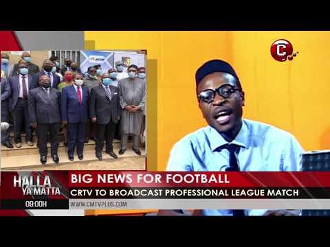Sports News in Cameroon and Africa  | Halla Ya Matta with Papa Joe