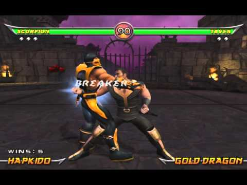 Mortal Kombat Armageddon - Scorpion Arcade Ladder