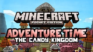 adventure time the candy kingdom   minecraft pocket edition   map review
