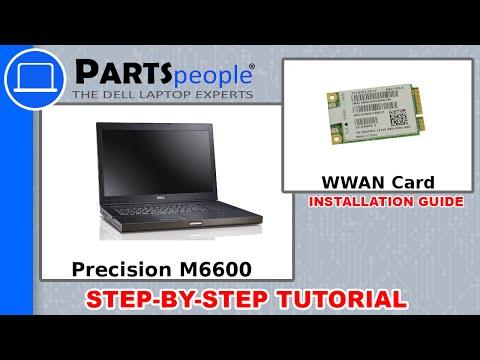 Dell Precision M6600 Wireless WWAN Card How-To Video