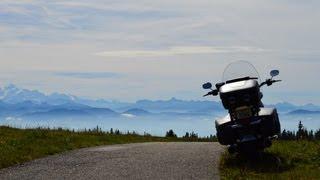Harley Davidson Road King Classic 2013 on the Jura Tour