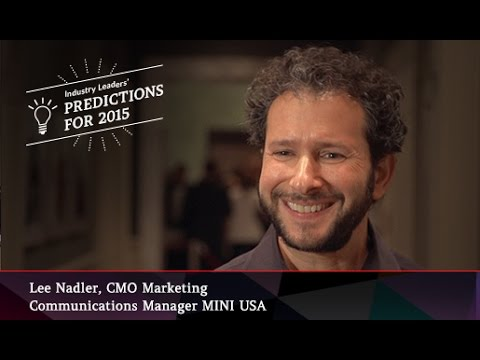 Lee Nadler, Marketing Communications Manager, Mini USA