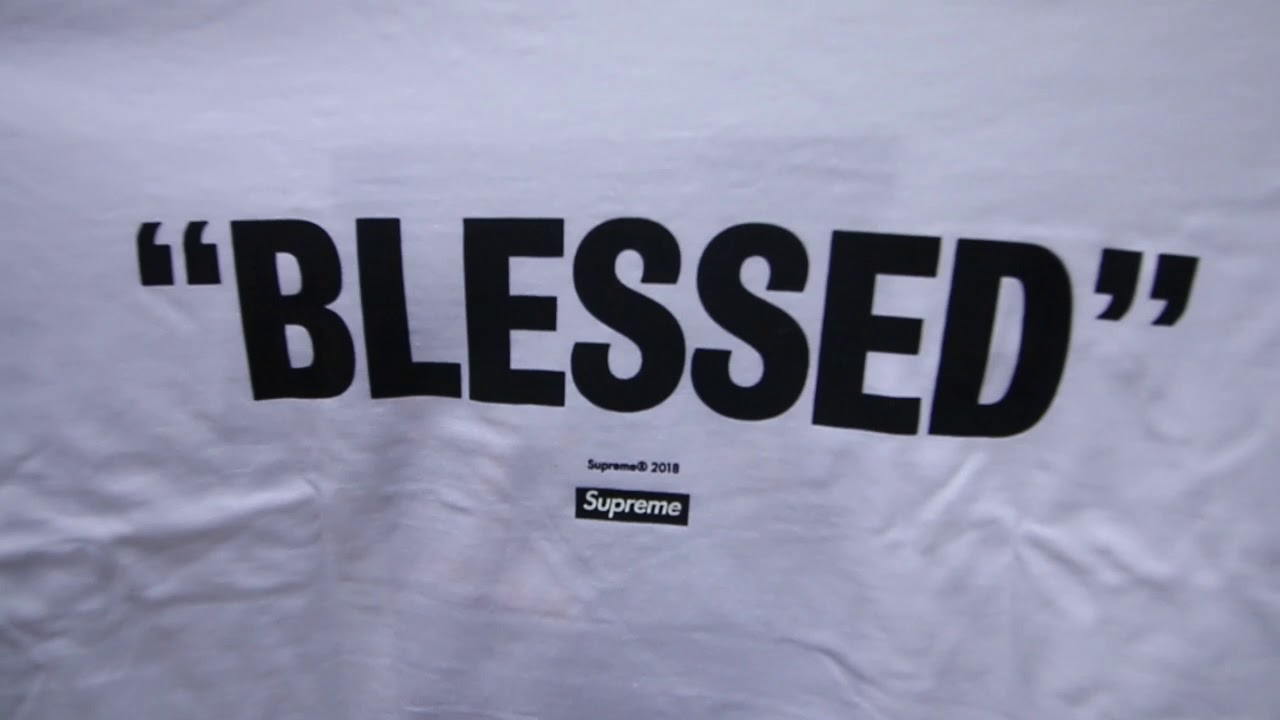 3ebd38d2a997 SUPREME WEEK 14 FW18 | HAND WARMER +BLESSED TEE AND DVD | LONDON INSTORE  DROP