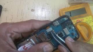 Samsung gt e1232b dead repair short solution video