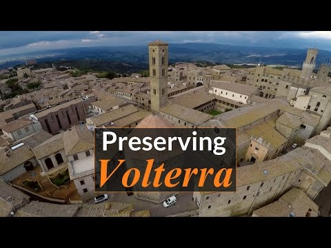 Preserving Volterra: How drones, lasers and 3D scanners are saving 3,000 years of Italian history