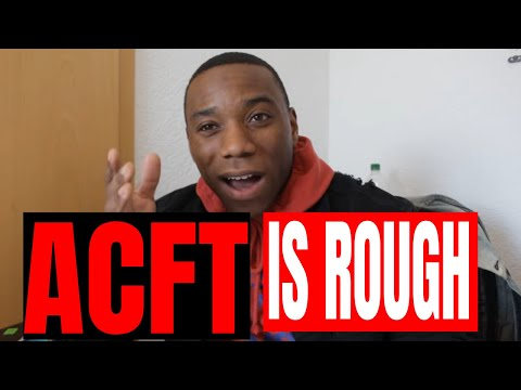 New ARMY PT Test Is Rough (ACFT)