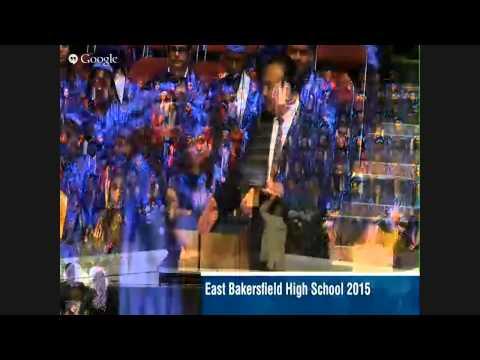 East Bakersfield High School Graduation - 2015