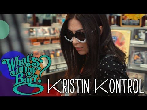 Kristin Kontrol (Dum Dum Girls) - What's In My Bag?