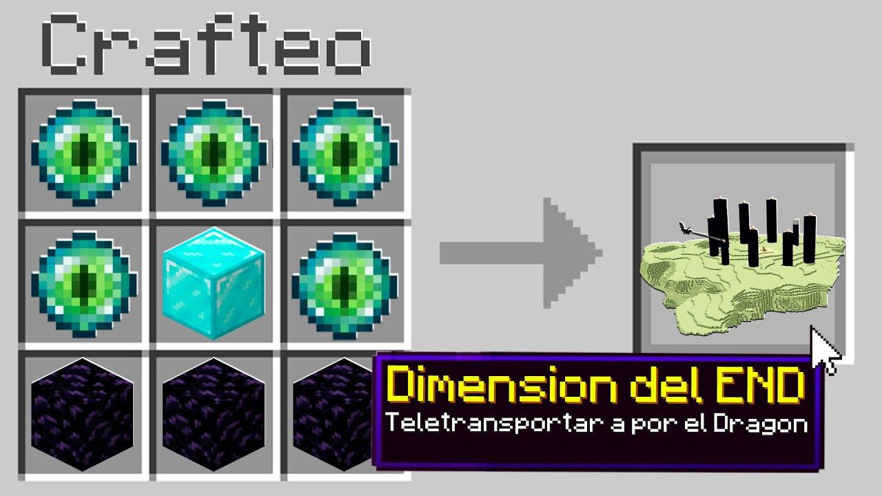 Paso Minecraft pero puedes CRAFTEAR DIMENSIONES 😱🌍 Sandy
