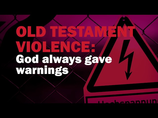 God always gave warnings in the Old Testament