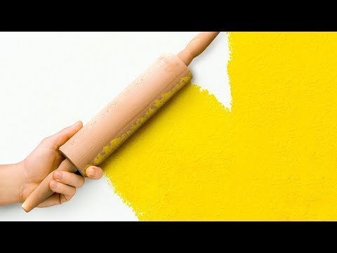 25 COOL PAINTING HACKS FOR BORING WALLS