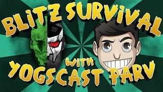 Slicing with YOGSCAST Parv! - Blitz Survival Games - #69