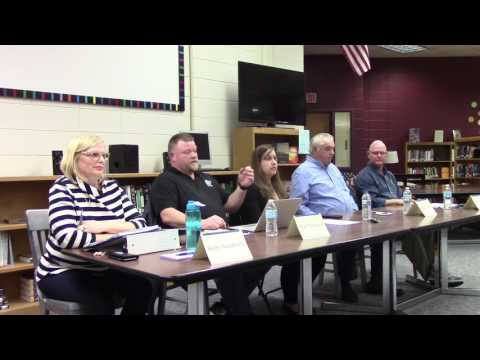 Mineral Point School Board Candidate Forum 3.15.17