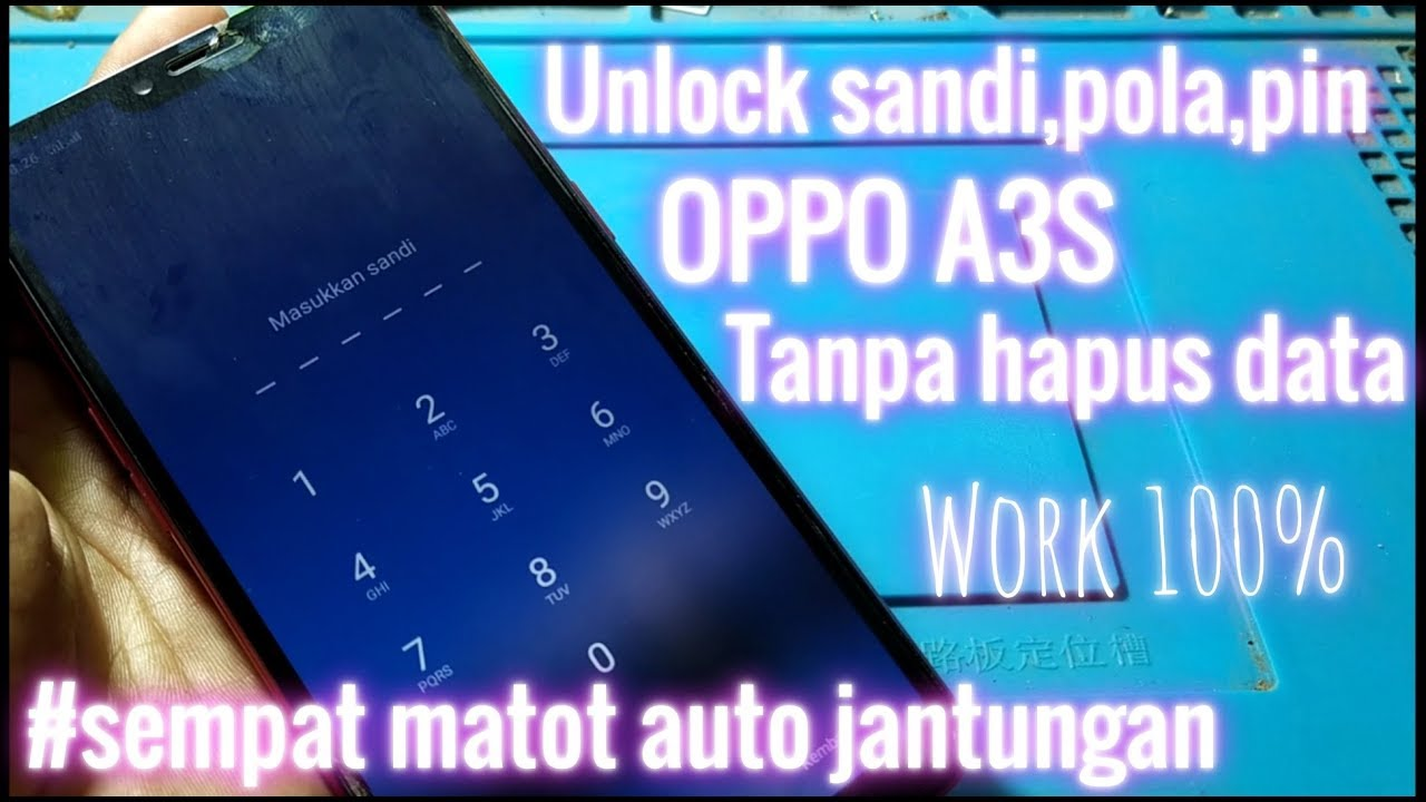 Oppo A3s Screen Lock Remove With Crack MRT 2 60 ! Oppo CPH