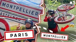 J'AURAIS PU ME NOYER !! Paris - Montpellier en BMX dernier épisode !
