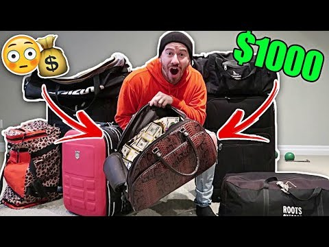 I Bought $1000 of Lost Luggage at an Auction and Found This.