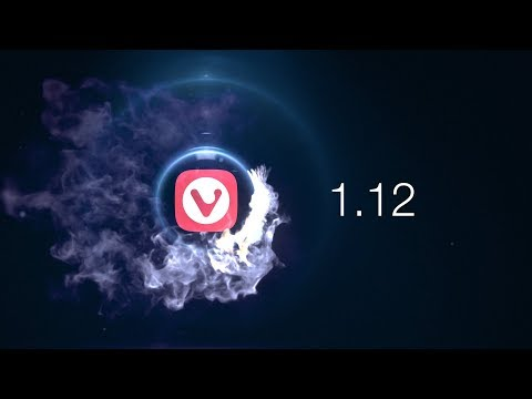Vivaldi 1.12 – Giving you the browser you want