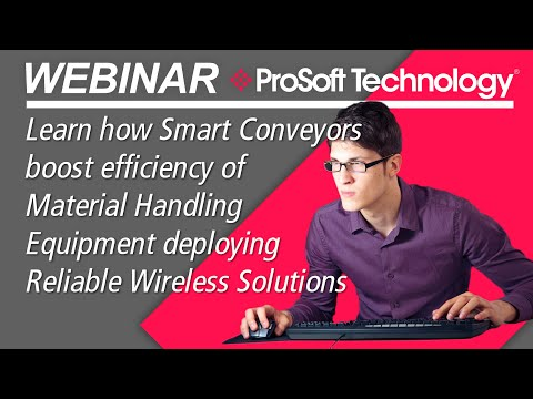 Reliable Wireless Solutions For Smart Conveyors Boost Efficiency Of Material Handling Equipment