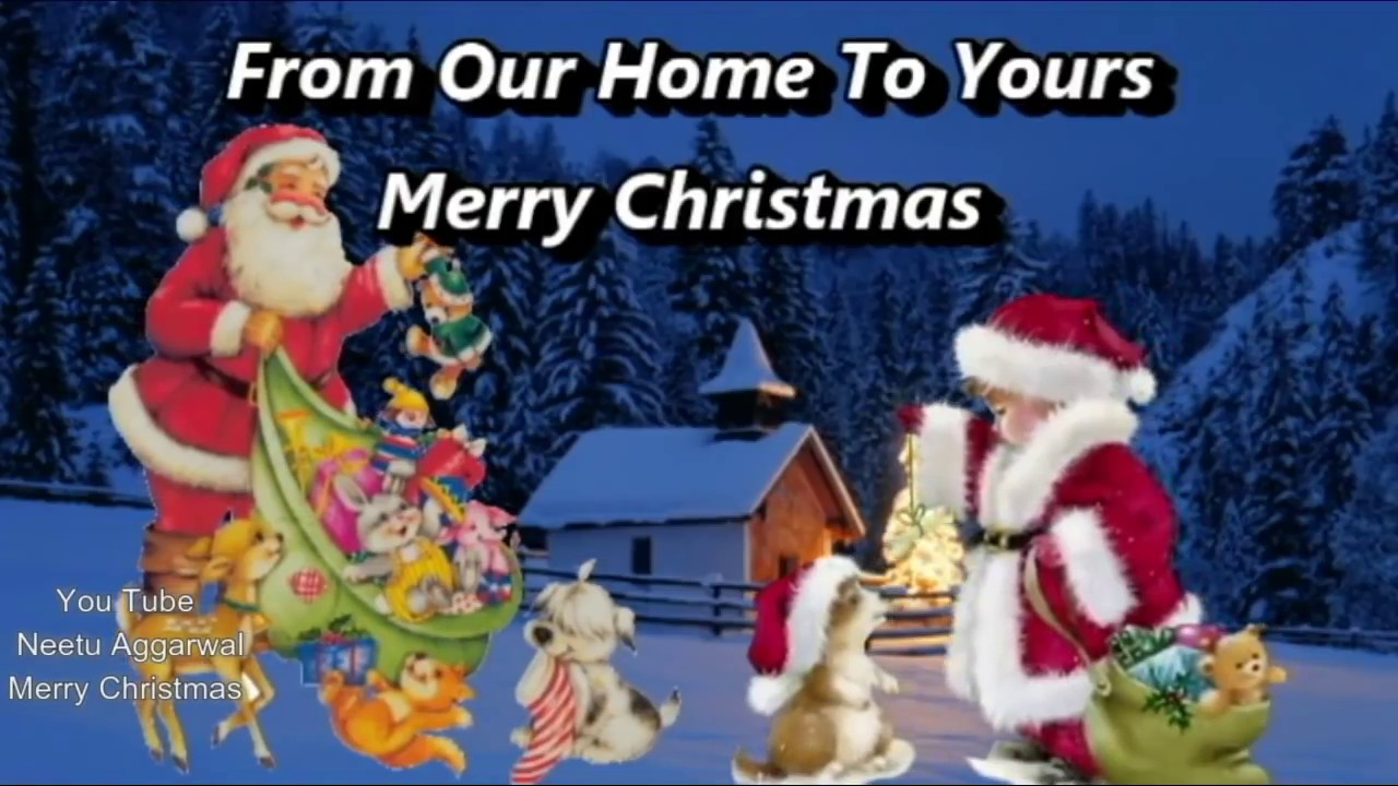 Merry Christmas From Our Home To Yours.From Our Home To Yours Merry Christmas