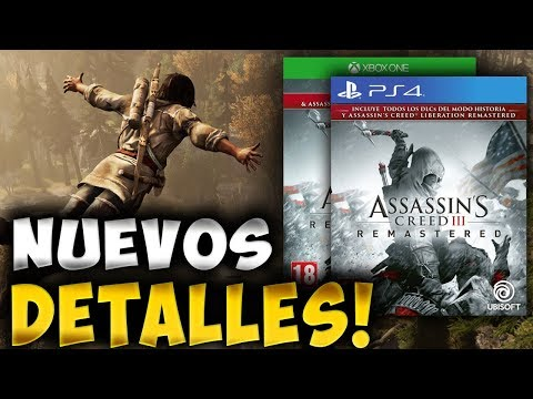 NUEVA INFORMACIÓN ASSASSIN'S CREED 3 REMASTERED!! - RAFITI thumbnail