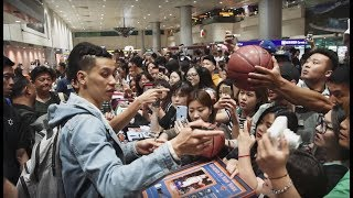 Epic Airport Arrival in Taipei - Jeremy Lin VLOG Episode 1