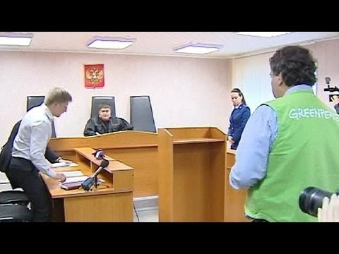 Russia charges Greenpeace activists with piracy