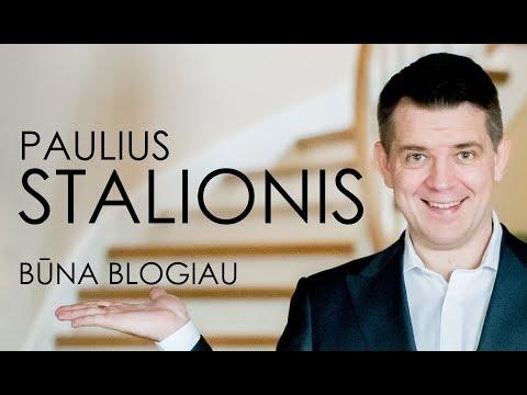 DAINOS PREMJERA!!! PAULIUS STALIONIS - Būna blogiau 2018