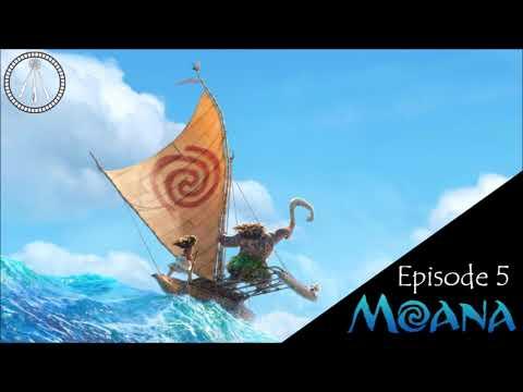 The Story Cauldron Podcast: Episode 05 - Moana