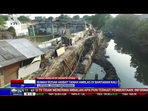 Sejumlah Rumah Rusak Akibat Tanah Longsor di Bantaran Anak Kali Ciliwung Mp3