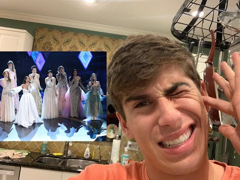 Reacting to Idina Menzel's Oscar INTO THE UNKNOWN