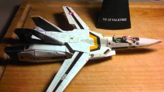 Video Papercraft Valkyrie VF S1 Skull_0002