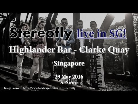 Stereofly Live in Highlander Bar - Clarke Quay (Singapore)