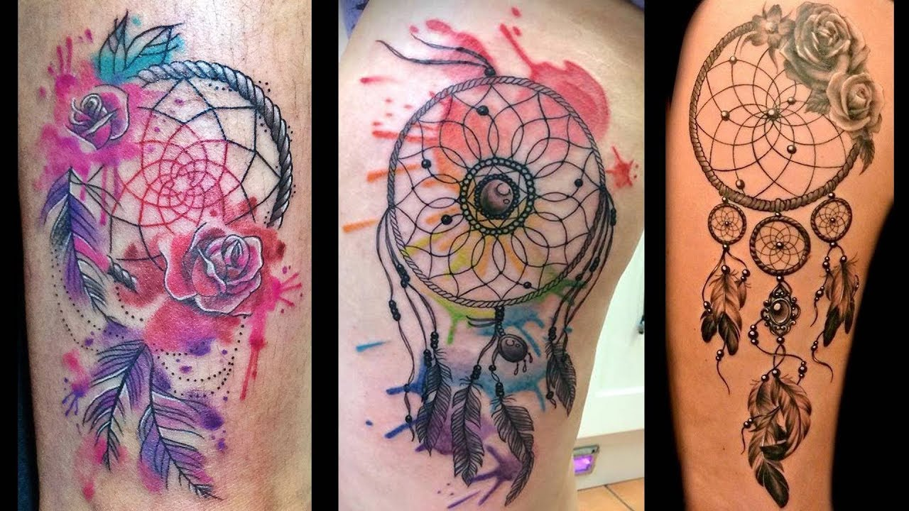 Más De 200 Diseños Y Tatuajes De Atrapasueños Youtube