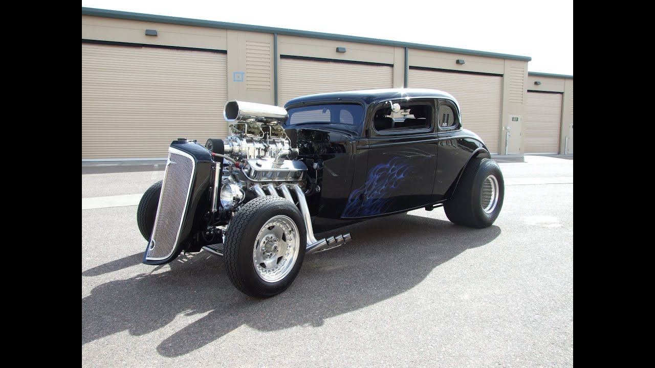 1934 Chevy 5 Window Master Coupe For Sale