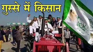 Farmers Protest: UP में National Highway पर किसानों का कब्जा, दिल्ली की ओर बढ़े