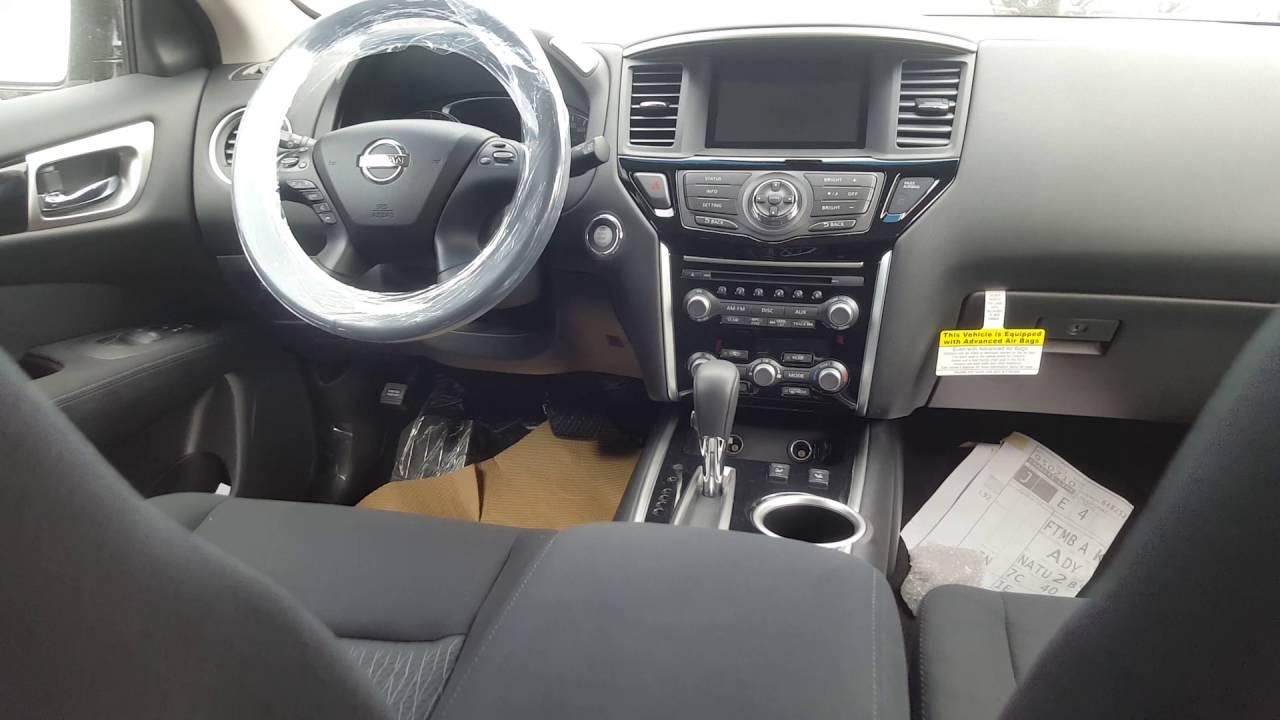 2016 Nissan Pathfinder Sv 4wd I 7 Seats Sliding 2nd Row Heated