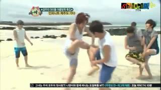 Repeat youtube video INFINITE funny 'Chicken Fight' (eng subs)