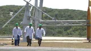 Lançamento de foguete de treinamento no Rio Grande do Norte