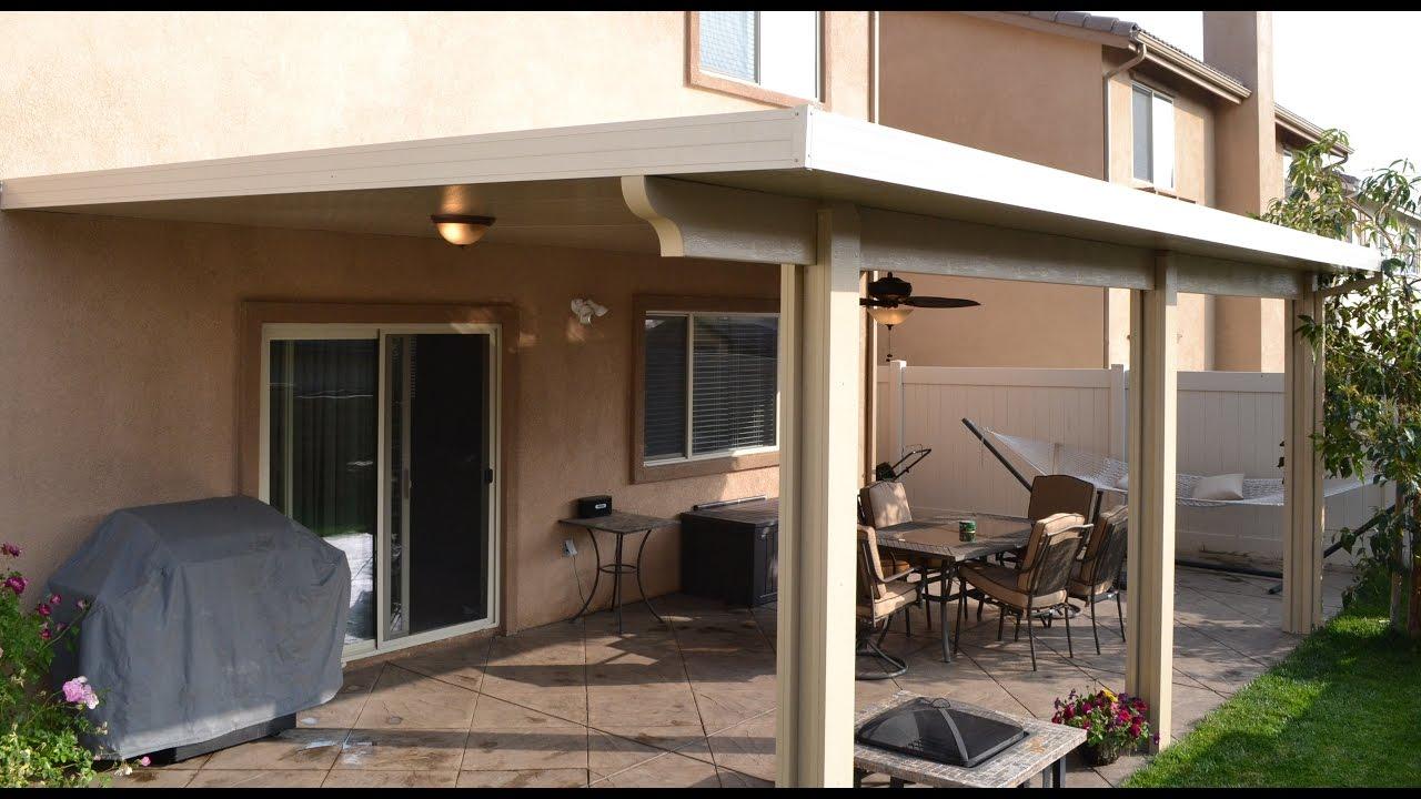 modern style metal roof patio