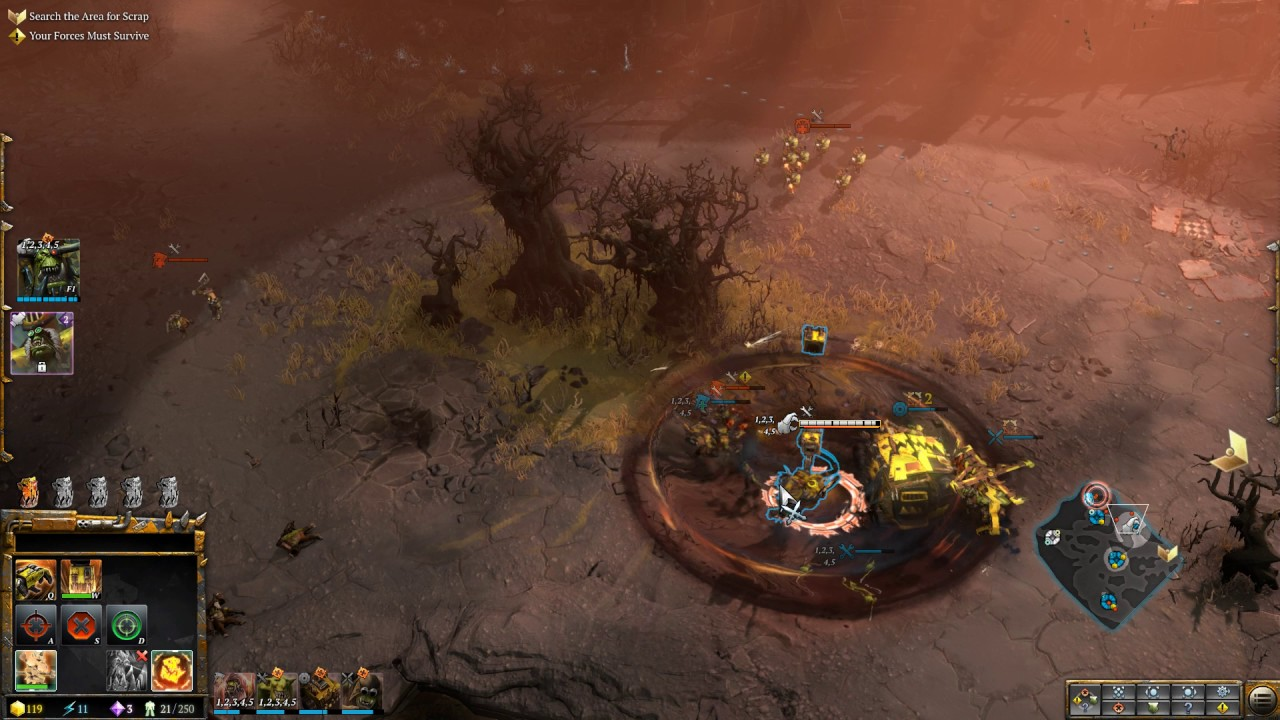 Warhammer 40000 Dawn of War III Gameplay - YouTube