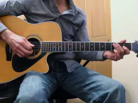 The Cowboy Rides Away George Strait Guitar Lesson Youtube